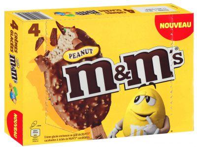 Mars M&Ms peanut 4x62g, Multipack