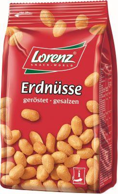 Lorenz Erdnüsse geröstet, gesalzen 200g