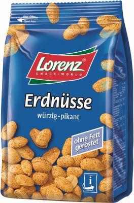 Lorenz Erdnüsse würzig-pikant 150g