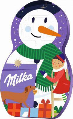 MDLZ DE Christmas Milka Snow Mix Adventskalender 236g