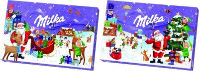 MDLZ DE Christmas Milka Adventskalender 200g