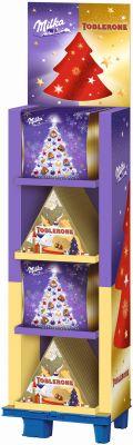 MDLZ DE Christmas Toblerone & Zarte Momente Adventskalender, Display, 50pcs