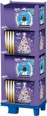 MDLZ DE Christmas Oreo & Zarte Momente Adventskalender, Display, 60pcs